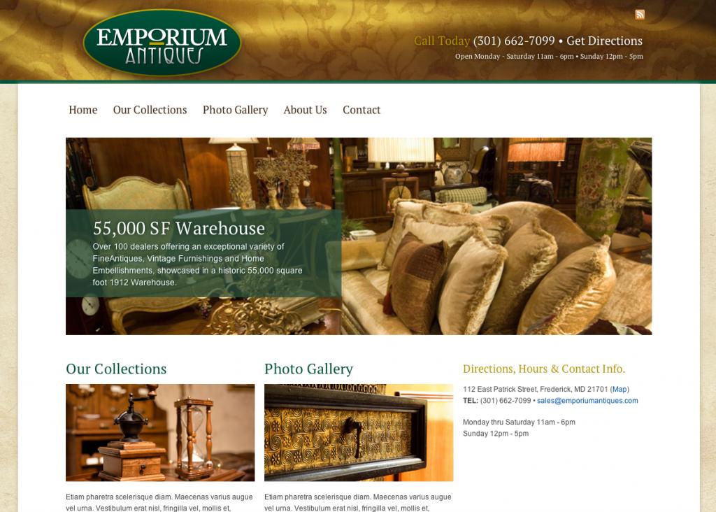 Emporium Antiques in Frederick, MD