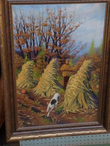 American School Hunting Scene, large and lovely - $595 Offered at Emporium Antiques by Robert Quilter, Booth BQ